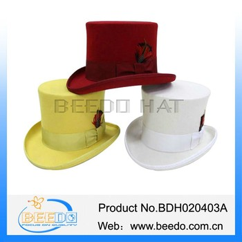 China supplier festival top mad hatter hats uk to decorate