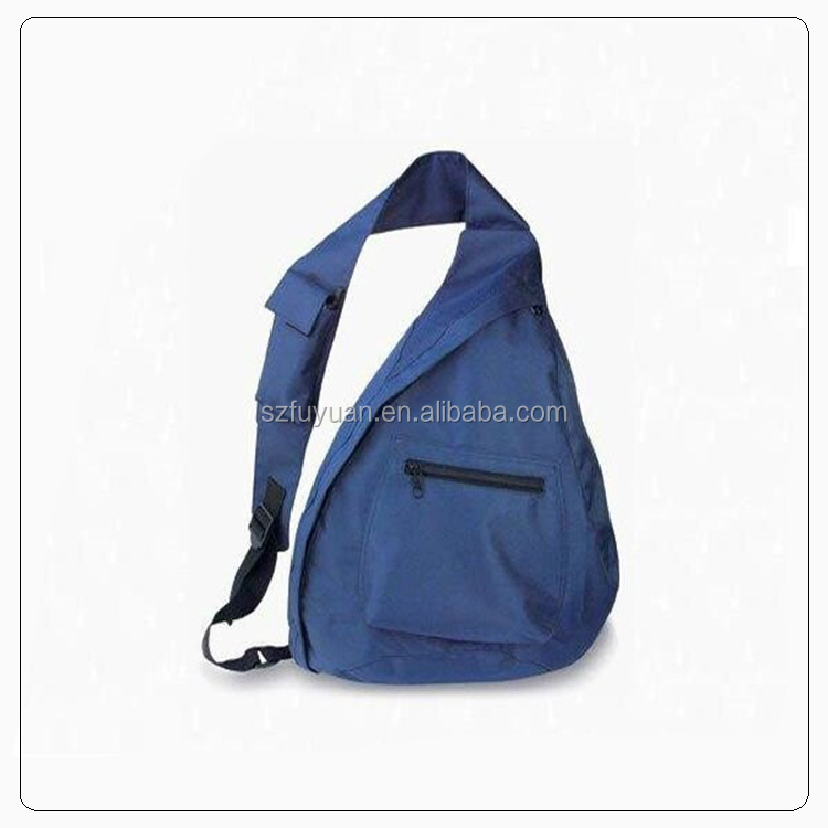 Backpack with one strap,triangle shaped backpack,one strap backpack