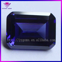 emerald cut gems stone rough cubic zirconia stones price for sunglass