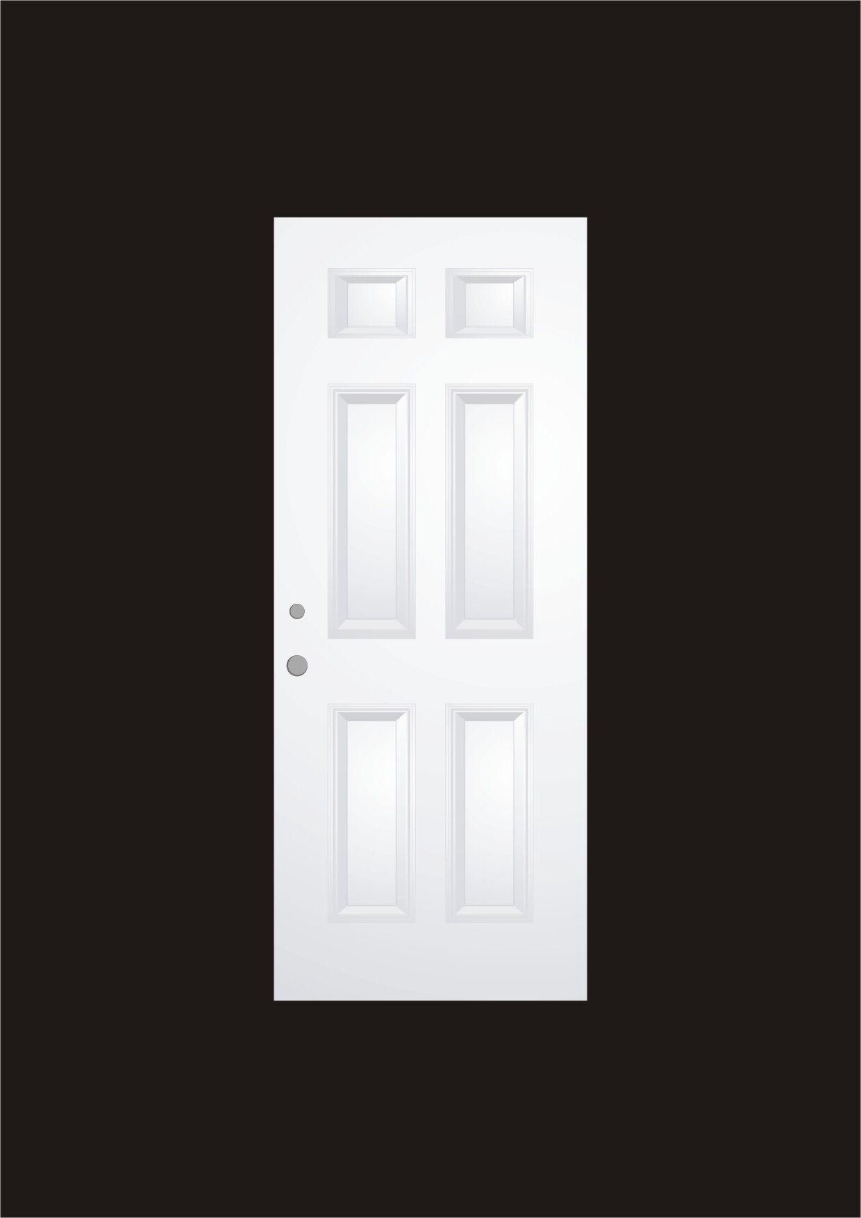 white wood door. White Wood Door