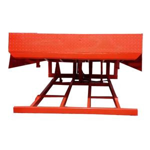 CE-Approved Stationary hydraulic dock leveler used for container warehouse Warehouse hydraulic dock leveller