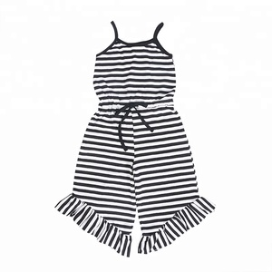 2018 Newborn Toddler Baby girls Sleeveless baby Clothes Set jumpsuits