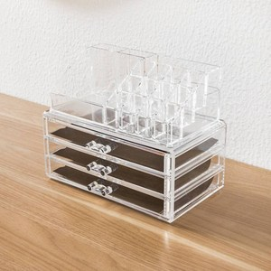 Clear Acrylic Makeup Storage Organizers with Drawers