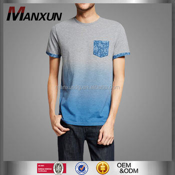 Dongguan Custom Design Mens T Shirt Simple Short Sleeves O Neck