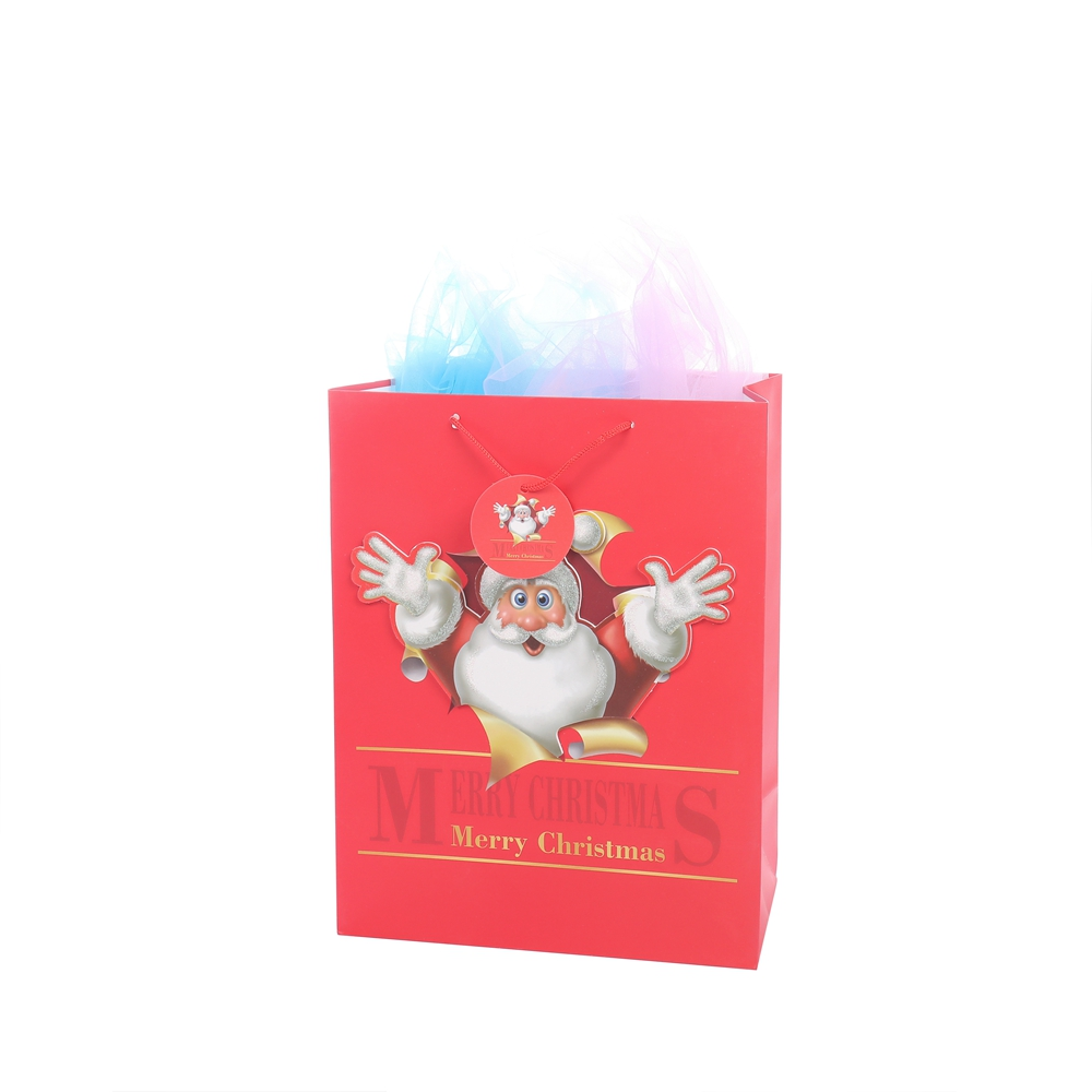 New Design Promotional Custom Logo Shopping Durable Gift Paper Packing Bags For Sale