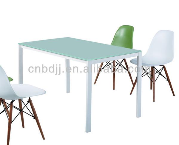 moderna ikea cafe restaurante de la cocina del hogar barato cristal de comedor de mesa y