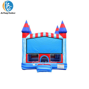 Outdoor commercial grade bounce house inflatable trampoline bouncer