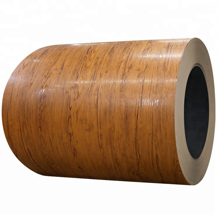 3D Wooden pattern pre painted steel coil for building <strong>material</strong>