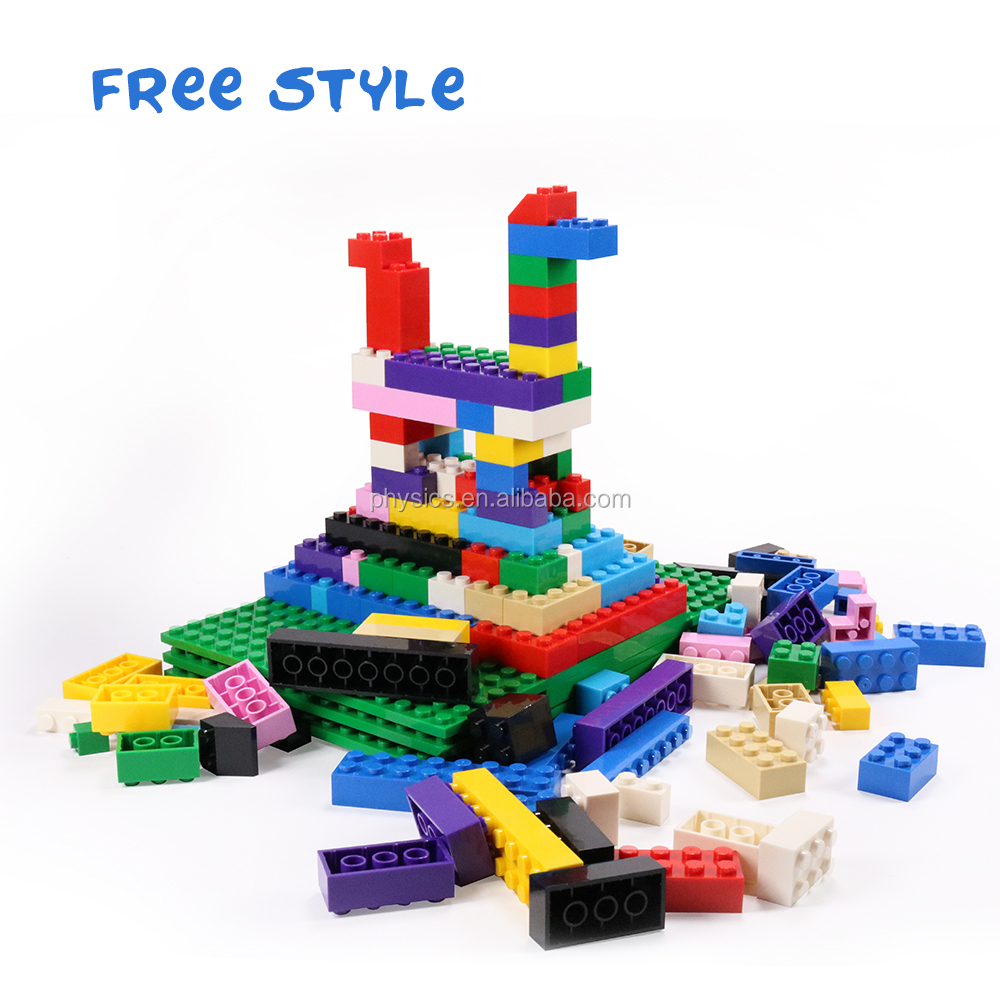 CE kids toy silicone block legos tape compatible legos building blocks