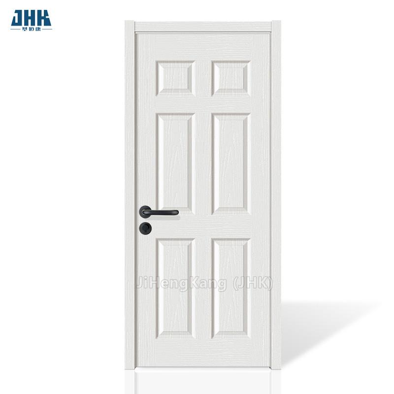 wholesale dealer 3a5db 7a870 Jhk-006 6 Panel Cheap Hollow Core Interior Doors White Primer Bathroom Wood  Door Design - Buy Bathroom Door,White Door,Cheap Hollow Core Interior ...