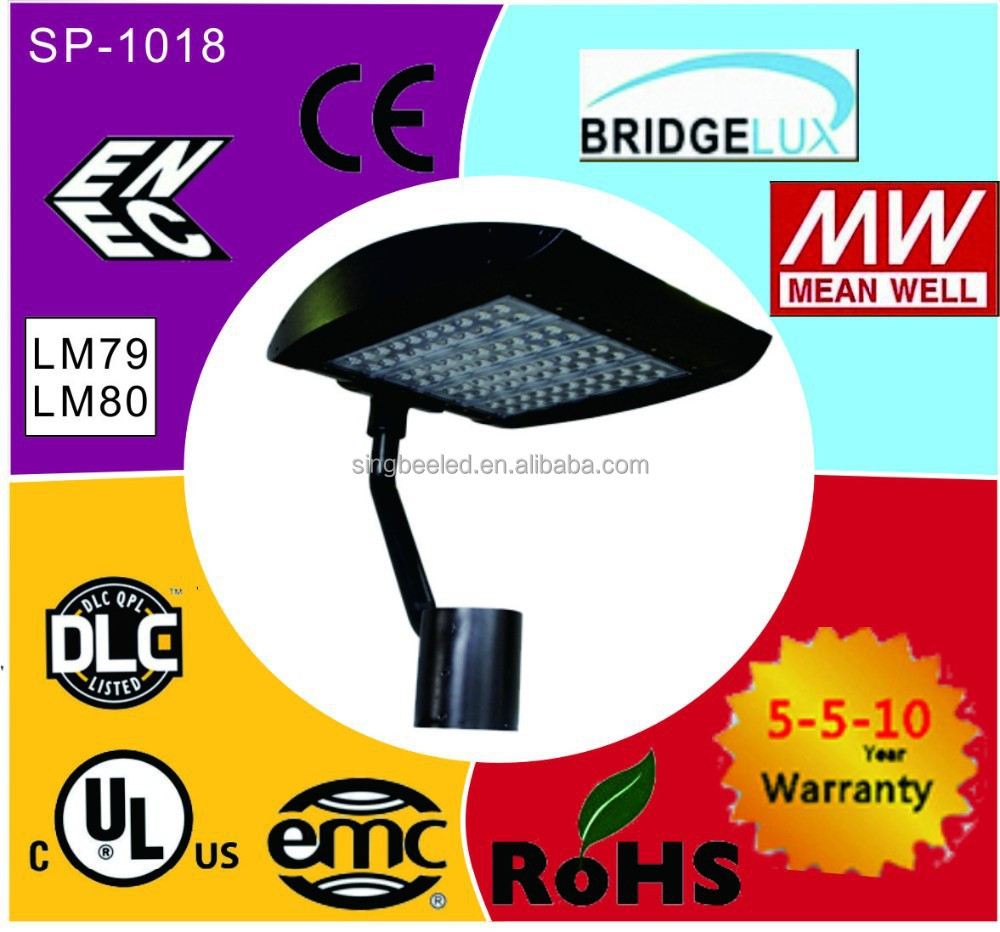 new style best sale outdoor led parking lot lighting for The united Arab emirates