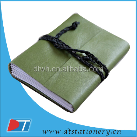 leather notebook and diary