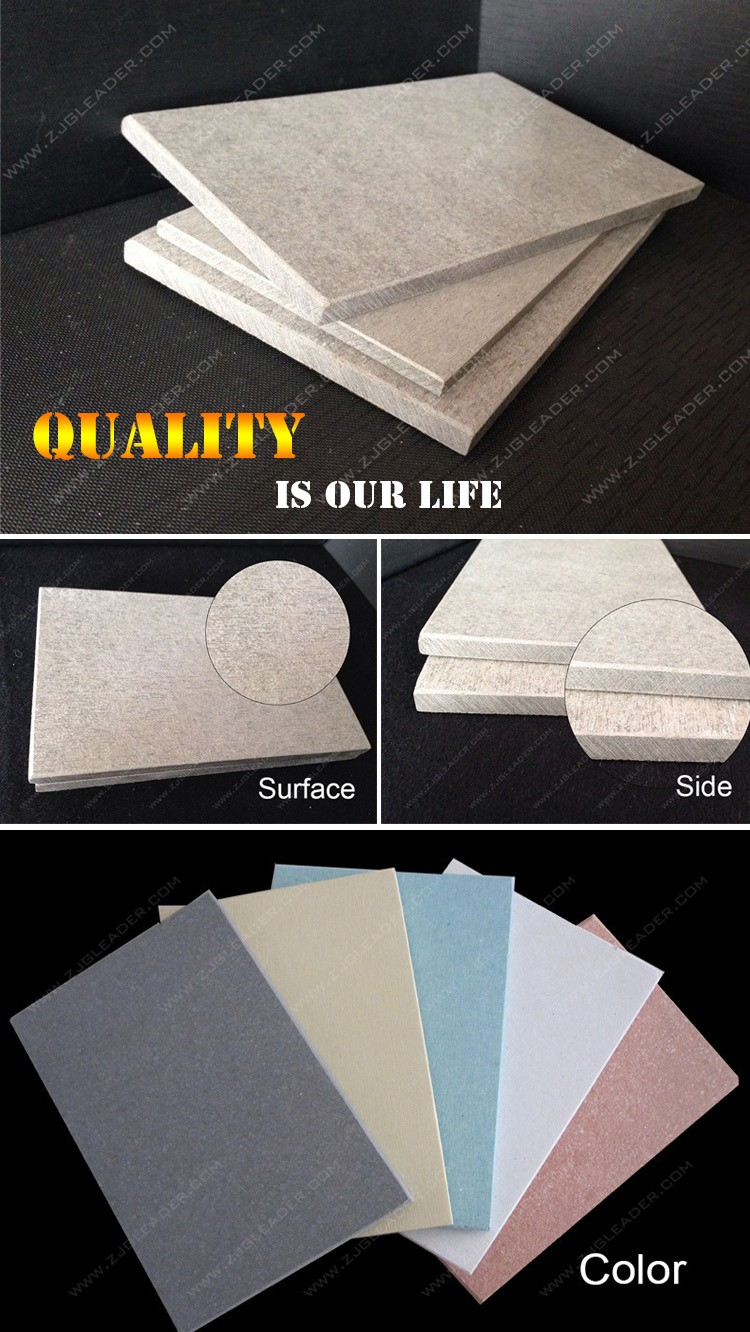 Non Asbestos Fireproof Building Material Fiber Cement