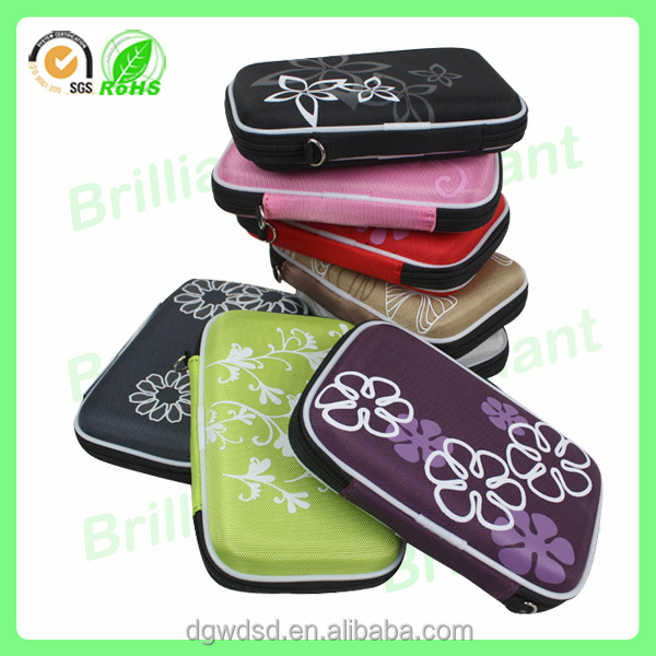 Wholesale custom portable hard shell eva universal game case