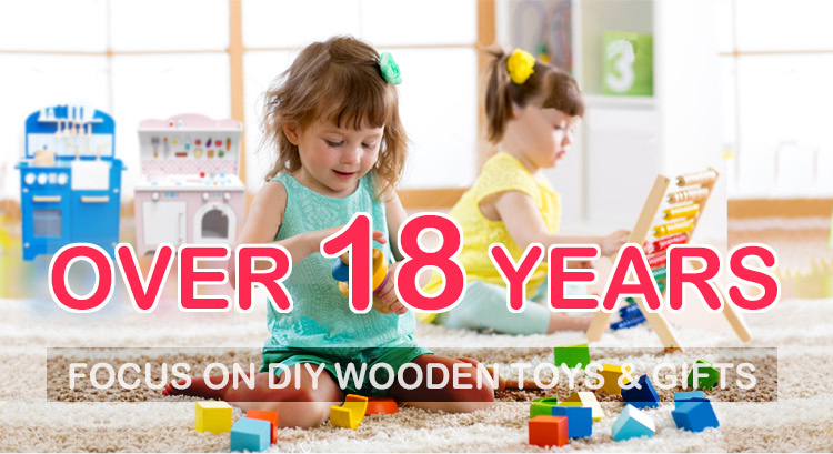 Top sale educational toy tool kit wooden carpenter set toy for kids W03D118