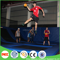 Fitness Equipment Trampoline with Basketball Shoes Men