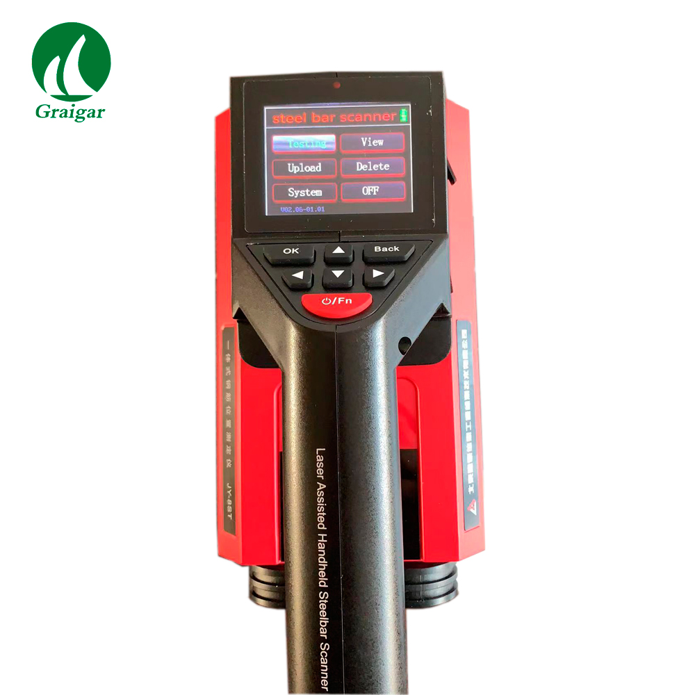 New JY-8SK Laser Assisted Steel Bar Scanner JY8SK Laser Indicating Positioning Convenient to Determine the Position of Steel Bar
