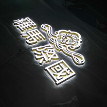 Acryl Mini 3D led backlit en frontlit letters <span class=keywords><strong>logo</strong></span> teken voor indoor outdoor shop front