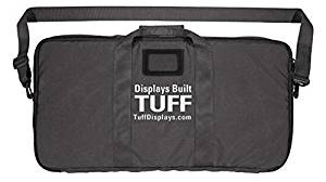 Tuff Products Display Covert Rifle Case with Decoy Logo, Black Nylon