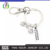 K600001 Cross Fit Training Weight Lifting Fitness Dumbbell Barbell jewelry Weakness is a choice charm Keychain Gym Key Ring