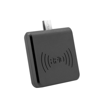 Customized wholesale white and black 2 colors micro usb android contactless rfid reader