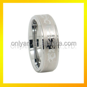 Cheap price wholesale men stainless steel metal foot finger ring