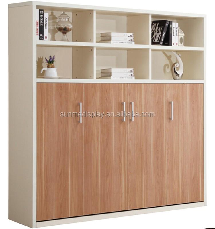 Muebles de dormitorio cama plegable doble muebles ocultos for Muebles ballesta baza
