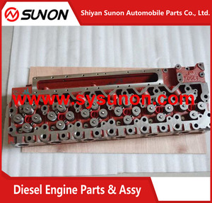 6 Cylinder Diesel Engine For Sale QSL9 Engine Cylinder Head With Valves 3973631 4987974