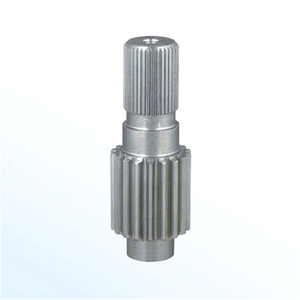 High Precision Casting Plastic Customized Gear Wheel Shaft