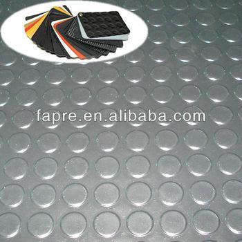 2013 New Anti Slip Rubber Chair Mat Black Rubber Mat
