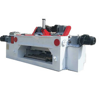 4 feet CNC plywood spindleless / veneer peeling lathe/rotary cutting machine