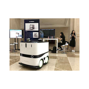 outside food goods 1000km Real Time Remote-Controlled AWD delivery robot robot delivery meal delivery robot