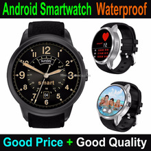 Cheapest Factory 1.39 Inch Touch Screen Round Android Smartware Quad-core 3G Waterproof Android Smartwatch