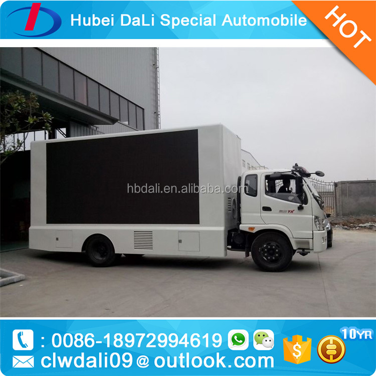 hd p10 mobile led display screen board manufacture china/truck moving led advertising