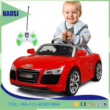 12v battery kids ride on car audi children electric car double door cheap pedal car for