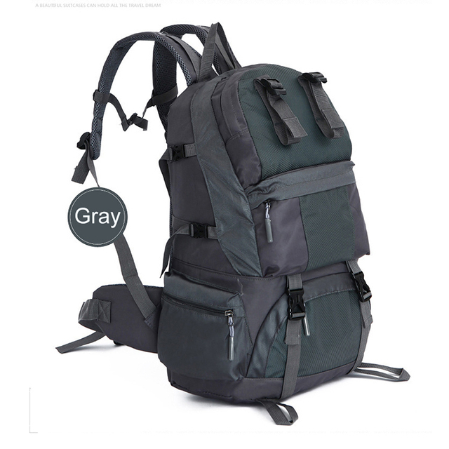 top grade outdoor large external cheapest metal frame hiking backpack bean bag china survival backpack with - External Frame Hiking Backpack