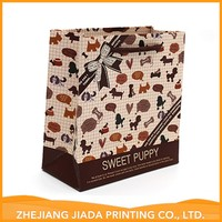 Accept Custom Factory Supply Attractive Price Art Paper Handle Bag