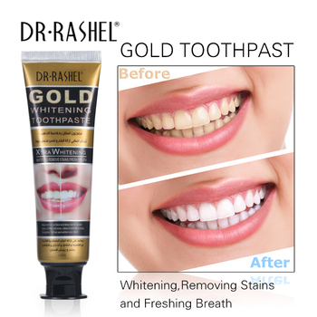 DR.RASHEL Remove Stain Gold Whitening Toothpaste
