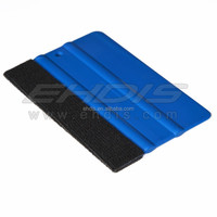 Factory supply OEM different hardnessed squeegees for sign and car-wrap installing with felt