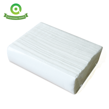Virgin Wood Pulp Strong Absorbency N-fold Hand Towel Paper