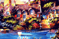 canvas painting buy online with frame digital oil painting