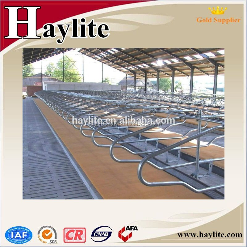 Agriculture farm equipment galvanized cow free stall dairy barns