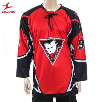92610f0da China Latest Design Custom Funny Wholesale Blank Cheap Team Set Hockey  Jersey