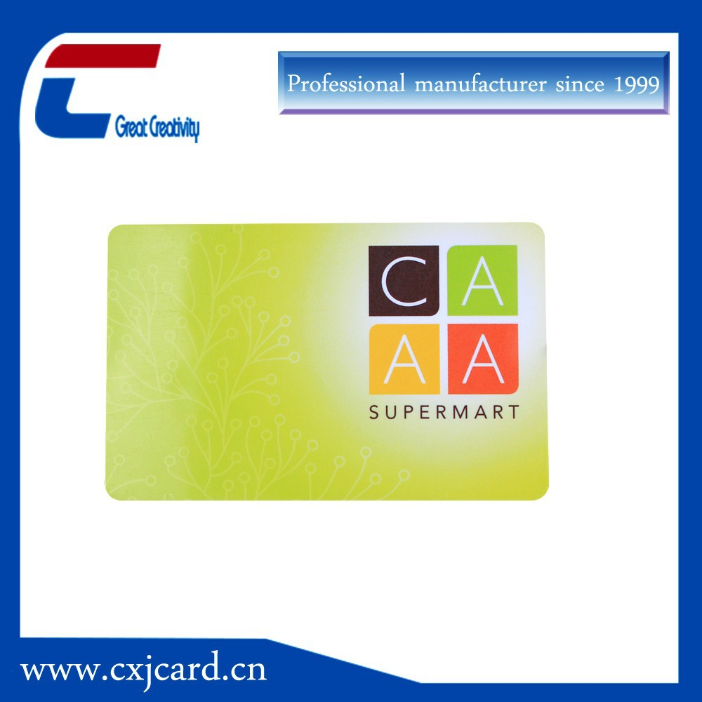 Cheap Contactless Rfid Smart Membership Card Manufacturer For Mobile Payment