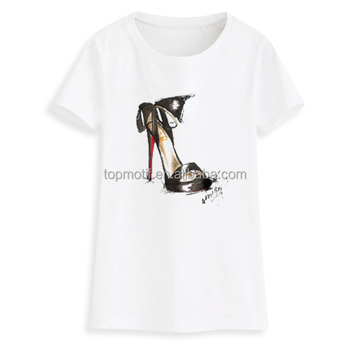 Wholesale hot fix bowknot high Heel shoe vinyl Transfer