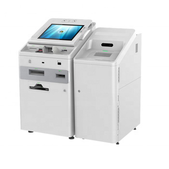 Self-service Kiosk STS-320 YH/Yihua Smart Teller System Customized Multifunction with Cash Recycling Module
