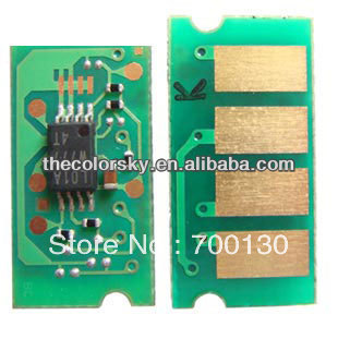 (TY-RCL4000) compatible bk c m y for RICOH CL4000 CL 4000 SP C410 C411 C 410 411 888308 toner cartridge chip