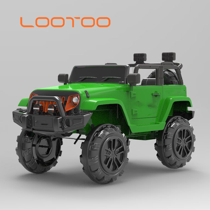 2.4G bluetooth remote control plastic baby toy 12 volt electric kids children ride on jeep car with battery