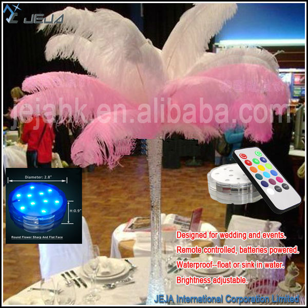 Battery Operated Remote Color Changing Submersible Led Lights Vase Base Waterproof Floralyte LED Light