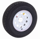 light truck tire 185r14c 8pr fitted with sunraysia trailer rim